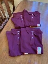 Clearance! Lot of 4 boys Sz. 4/5 uniform shirts New By Wonder Nation