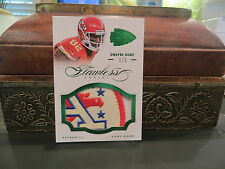 Panini Flawless Emerald Game Worn Jersey Chiefs Dwayne Bowe  1/5  2014