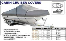 Cabin Cruiser Trailerable Boat Cover - 4.7 - 5.0m Length. OCEANSOUTH