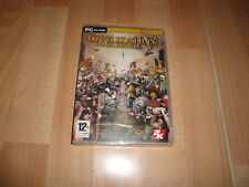 CIVILIZATION IV 4 WARLORDS SID MEIER'S EXPANSION PARA PC NUEVO PRECINTADO