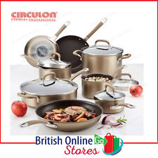 Circulon Premier Professional Hard Anodized 13 Piece Non Stick Cookware Set
