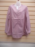 Sheego @ Kaleidoscope Top Blouse Tunic Pink Rose Size 18,22 Cotton BNWT  G003