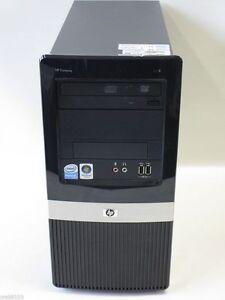HP COMPAQ DX2400 Intel Pentium Duo CPU 2.00GHZ,1GB,40GB,DVDROM