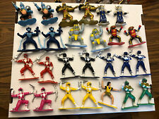 1993 Bandai Mighty Morphin Power Rangers 3 Inch Figures (Lot of 26)