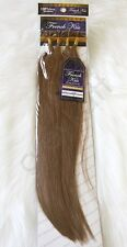 "French Kiss #8 Keratin U-TIP Remy Human Hair Extension 18"" Straight 100 pcs"