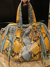 Botkier Howard St. Snakeskin Embossed Satchel  ~EUC ~used few times $595