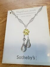 Sothebys Magnificent Jewels Catalogue 4/17/08