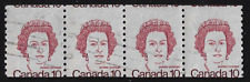 "Canada Stamps — 1982, Caricature: Queen Elizabeth II #593A ""With Error"" See Scan"
