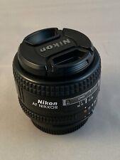 Nikon NIKKOR 50mm f/1.4D AF Lens