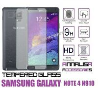 PELLICOLA IN VETRO TEMPERATO PER SAMSUNG GALAXY NOTE 4 SM-N910F TEMPERED GLASS