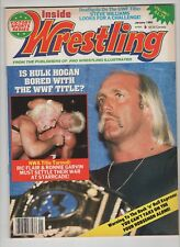 Inside Wrestling  Jan 1988 Hulk Hogan Ric Flair Ronnie Garvin Steve Williams