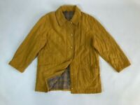 Authentic women's BURBERRY'S yellow/checkered jacket, Size appr. L