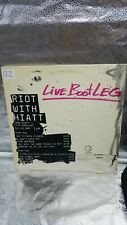 """LIVE BOOTLEG"" LP  JOHN HIATT Riot With Hiatt 1985 US Promo Only Official"