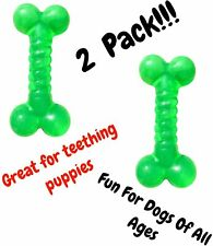 "Chew Toy for Dogs (2Pk) | 5"" Rubber Dog Bone 