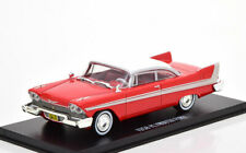 1:43 Greenlight Plymouth Fury from the movie Christine 1958 red/white