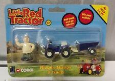 Corgi 2005 Little Red Tractor Nipper Stumpy & Trailer Toy Set