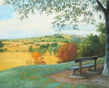 """Summer has gone, original oil painting by Andrey Stas 24x30"""" 62x77 cm w/o frame"""