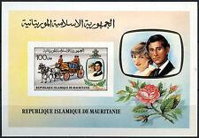 Mauritania 1981 Princess Diana Royal Wedding MNH Imperf M/S #D7738