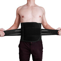 Adjustable Lower Back Lumbar Support Waist Belt Brace Pain Relief For Men Women