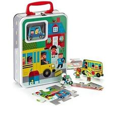 Hallmark Connect And Play School Days Puzzle Playset