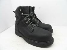 """Timberland PRO Men's 6"""" Resistor CSA Safety Boot 92692 Black Size 10 Wide"""