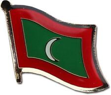 Maldives Country Flag Bike Motorcycle Hat Cap lapel Pin