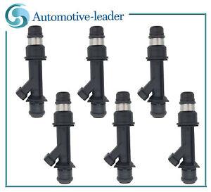 6pcs Fuel injectors 25323971 For Buick Century 3.1L01-05 Rendezvous 3.4L  02-05