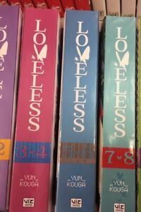 Loveless Vol 3&4, 5&6,7&8 (3 Manga) English Yaoi  Paperback – Illustrated,