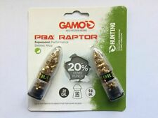 Gamo PBA Raptor Lead Free Airgun Rifle Pellets .22 100 Pack Gold Plated