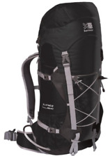 KARRIMOR ALPINISTE 35+10 BACKPACK RUCKSACK HIKING WALKING BLACK