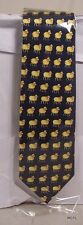 Sheep on Navy Tie