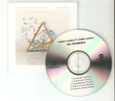 CHEAT CODES FT DEMI LOVATO - NO PROMISES - RARE BRAZILIAN 5 MIX CD PROMO