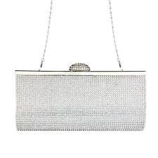 Fashion Women Rhinestone Handbag Evening Party Clutch Bag Wedding Wallet Purse