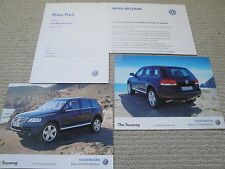 VOLKSWAGEN VW LANCIO stampa Pack per la Touareg DATATO 2002