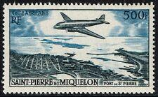 ST.PIERRE MIQUELON, 1955 500fr air/airmail, unmounted mint MNH, SG#412, aviation