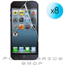 8x FILM PROTECTOR LCD DE PANTALLA ULTRA CRYSTAL CLEAR PARA IPHONE 5 5S APPLE