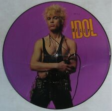 Billy Idol Picture Disc 1986