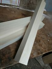 4 poplar square farm house dining table legs wood unfinished new