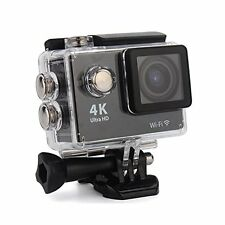 """Wifi 4k 16mp 2"""" FHD 1080p Actioncam sports Caméra vidéo DV Helmkamera étanche"""