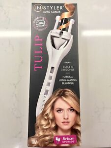 NEW In-Styler Tulip Auto Curler with Deluxe Upgrade Never Used