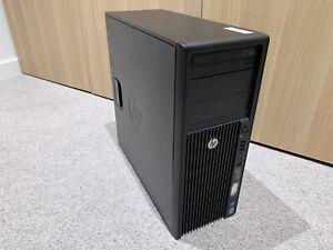HP Z420 Desktop Workstation 6-Core 12-Thread Xeon E5-1660 3.3GHz 16gb 128 SSD