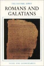 NEW - The Navarre Bible: Romans and Galatians (The Navarre Bible: New Testament)