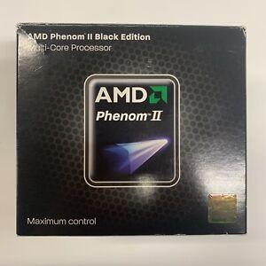 AMD Phenom II X4 955 Heat Sink Fan 3.2GHz Black Edition Multi Core Processor