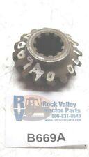White Gear-shaft Belt Pulley B669A