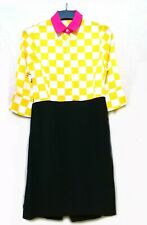 Multicolor colorblock dress