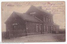 AK Belgien Bahnhof Gare de Momalle 1914 --21. Armeekops--