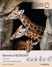 NEW 3 Days to AUS Elements of Ecology 9E Thomas M Robert Leo Smith 9th Edition