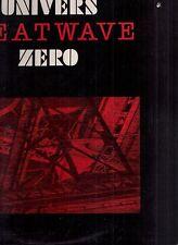 univers zero heatwave lp original w/press kit