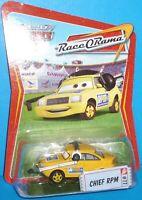 2009 Disney Pixar The World of Cars Chief RPM #77 NEW VHTF