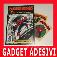 UOMO RAGNO 17 con Gadget ADESIVI Star Comics 1988 1ª ed